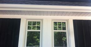 Siding: Aluminum Soffit, Fascia & Eaves with Maibec siding