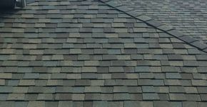 Roofing: Certainteed weather wood.