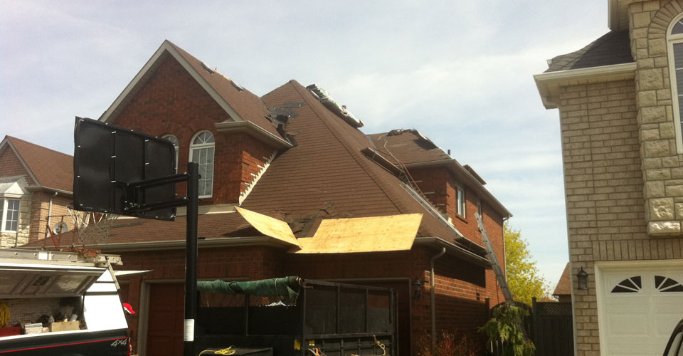 new roofing work