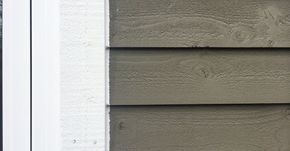 Siding: Maibec wood siding