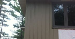 Siding: Vinyl Board & Batten siding