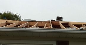 Roofing: Rafter issues on bungalow.