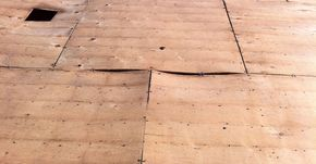 Repairs: Plywood issues, builder using 4X4 sheets.